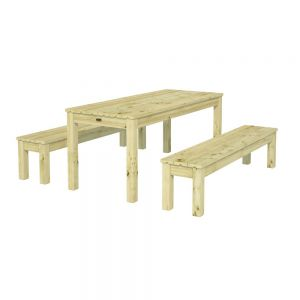 The Kilkenny 6ft Sturdy Picnic Table with 2 Benches