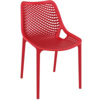 Air Commercial Stacking Chair - Red