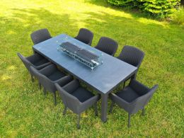 8 Seat Galaxy Set with Quilted galaxy Chairs