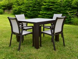 4 Seat Vegas with Pacific Chairs in Brown