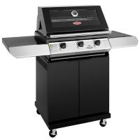 Beefeater 1200E 3 Burner Gas BBQ with Trolley