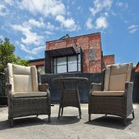 Boston Rattan Bistro Set