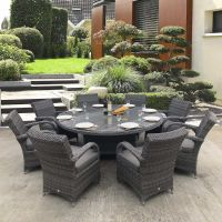california round 8 chicago  seats rattan furniture set