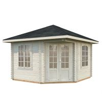 Cara 9.6m Pavilion with Roof Shingles