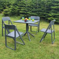 Dream 4 Seaters Sky Dining Set in Grey