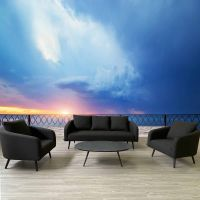 Galaxy 3 Seat Sofa Set