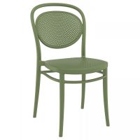 Marcel  Chair - Olive Green