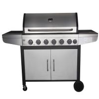 New Orleans Stainless steel 6 Burner BBQ with side burner