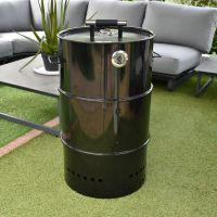 New Orleans Bayou Charcoal Smoker BBQ & Fire Pit