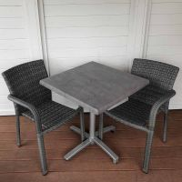 Oliveira Chair City Square Folding Bistro Set
