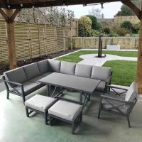 Royale Corner Dining Set with Cushions