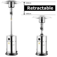 Thor Stainless Steel Height Adjustable Gas Patio Heater