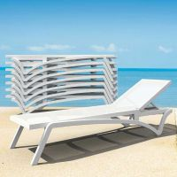 Pacific White Sunlounger