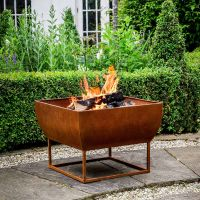 Windermere Rust Iron 50cm Firebowl