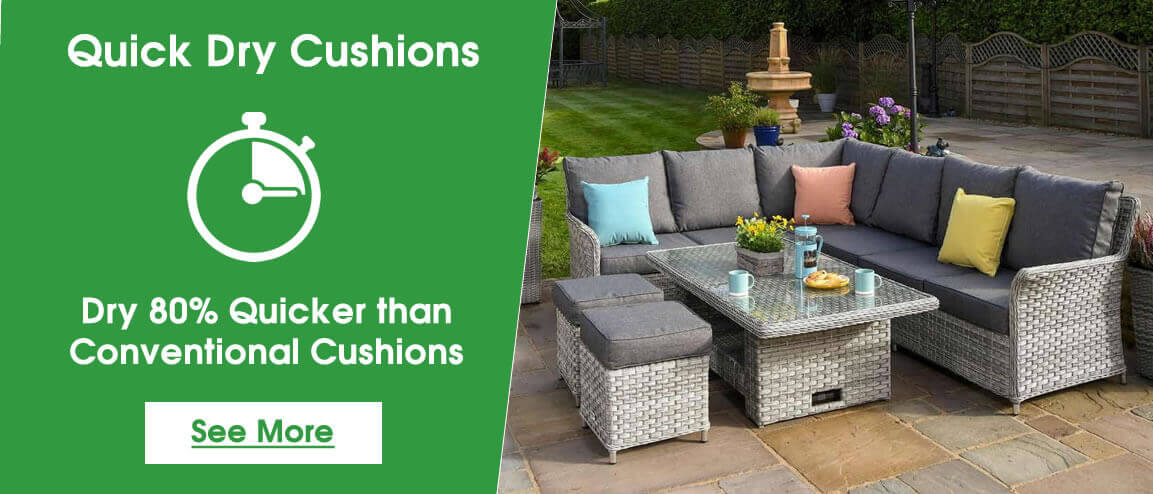 Quick Dry Cushions from OutDoor Living