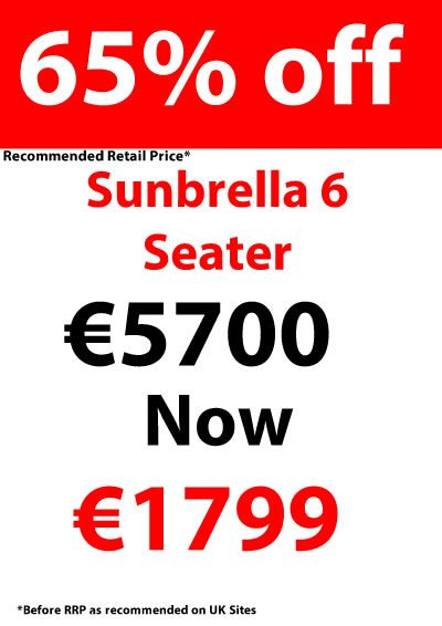 Huge discount with sunbrella fabrics products
