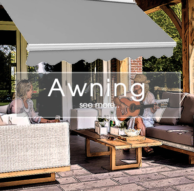 Outdoor Garden Shelter - Awnings