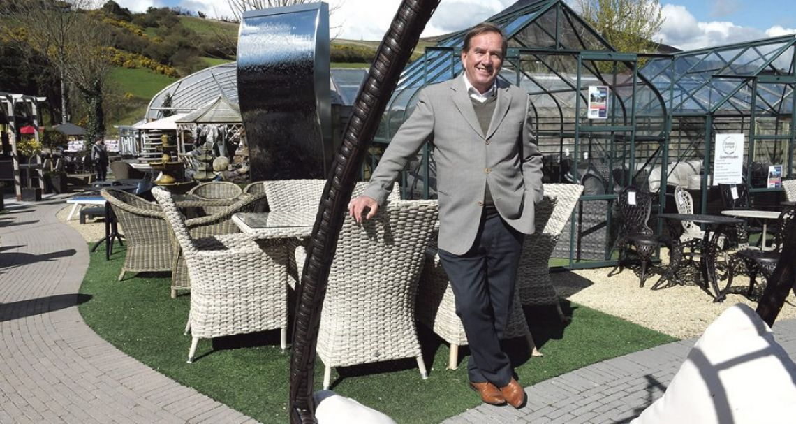 Pat Kelly of Outdoor Living / Outdoor Furniture. ©Sunday Business Post